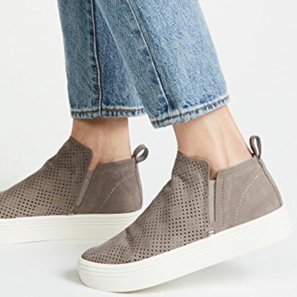 Dolce Vita Tate Platform Sneaker Taupe